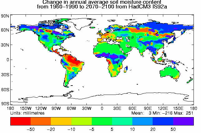 soilmoisture map