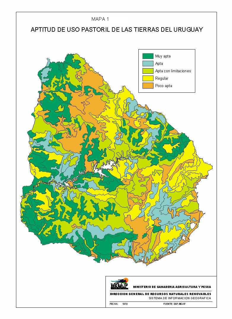 soil productivity map